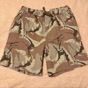 Urban Outfitters camo shorts